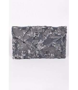 Natty Grace Rise And Sparkle Clutch