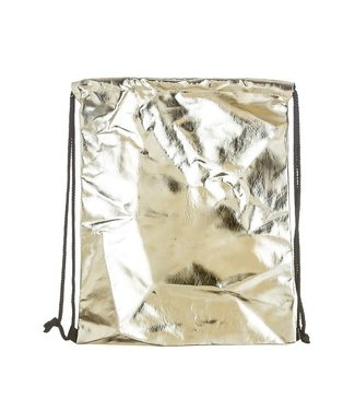 Natty Grace Dripping In Gold Drawstring Backpack