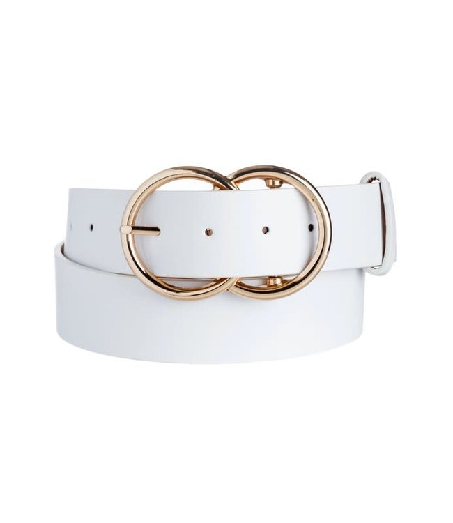 Natty Grace Ring Leader Double O Buckle Belt
