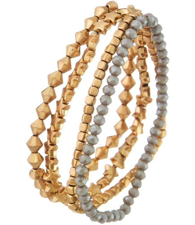 Natty Grace Mix It Up Beaded Bracelet Set