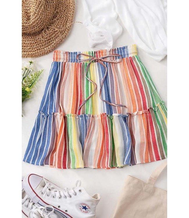 Natty Grace Festive For You Mini Skirt (Pre-Order: 4/3/20)