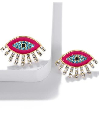 Natty Grace Crystal Eye Candy Studs