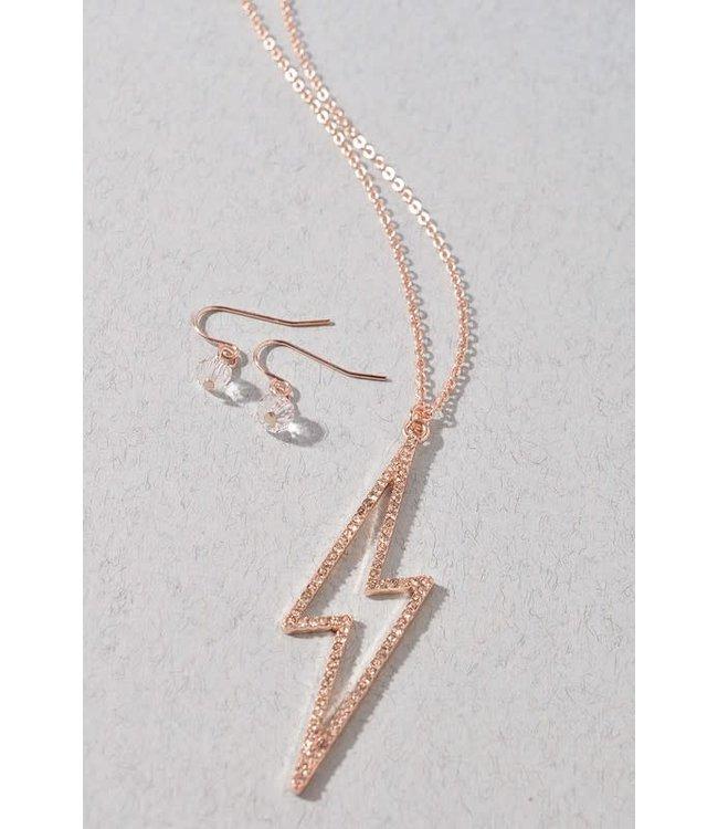 Natty Grace It's Like Lightning Necklace