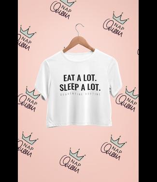 Natty Grace Original NG Original Eat A Lot Sleep A Lot Tee