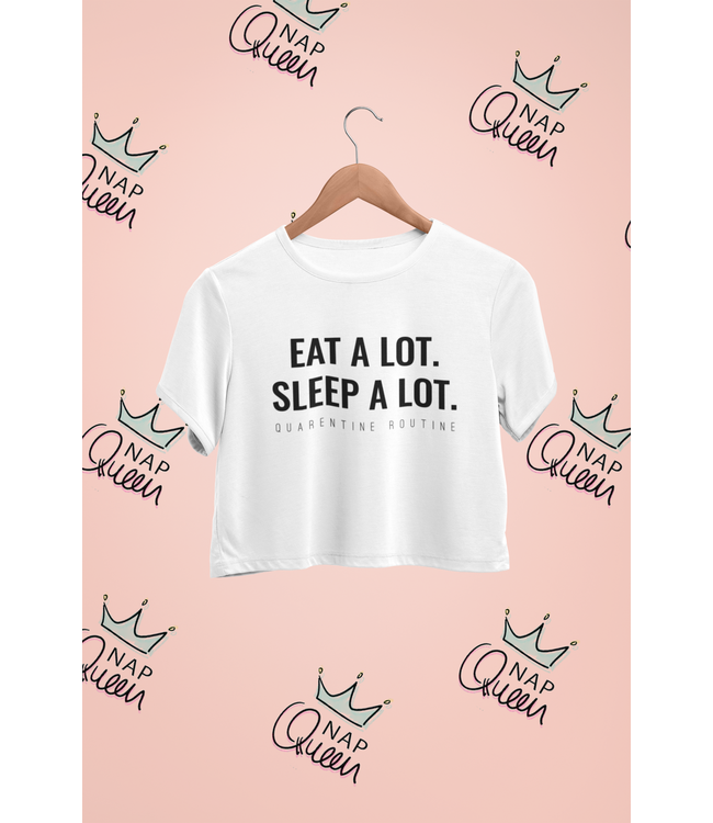 Natty Grace Original NG Original Eat A Lot Sleep A Lot Tee