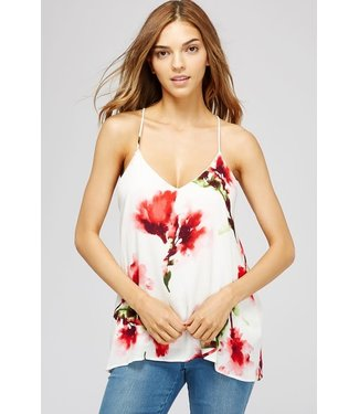 Natty Grace Sweet Blossom Floral Tank