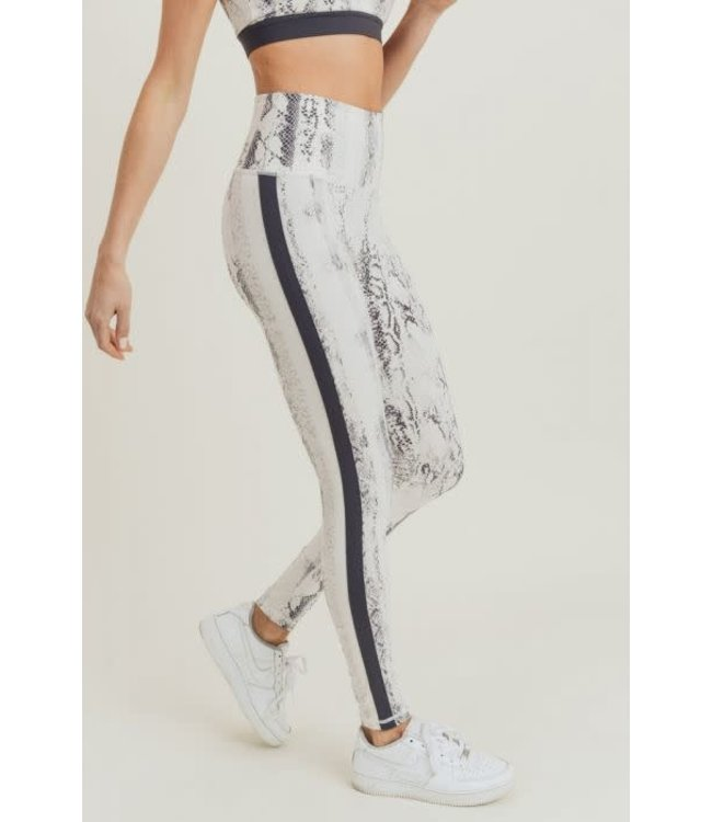Natty Grace Slither Down Snake Print Leggings