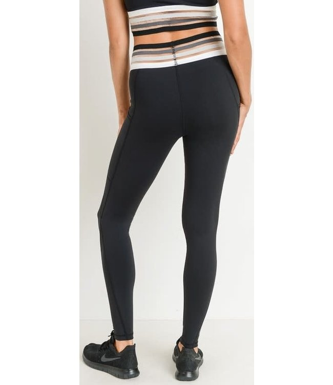 Triple Threat Activewear Leggings