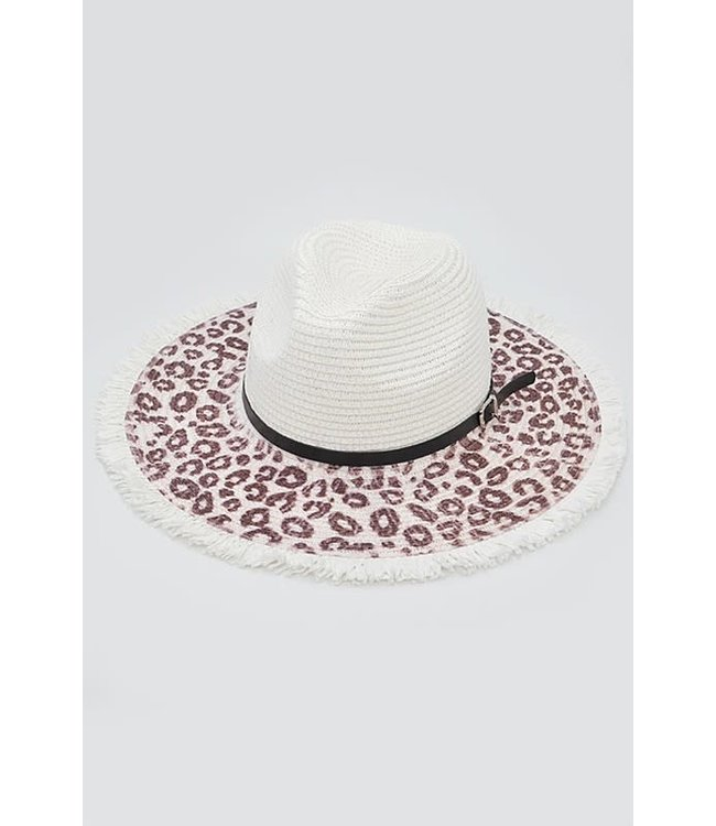 Natty Grace You Are Wild Animal Print Hat