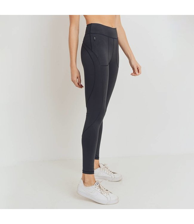 Natty Grace Simply Snatched Highwaist Pocket leggings