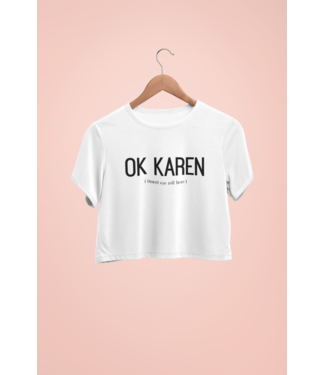 "Natty Grace Original NG Originals ""OK Karen"" Tee"