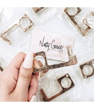 Natty Grace Gold Touchless Door Opener