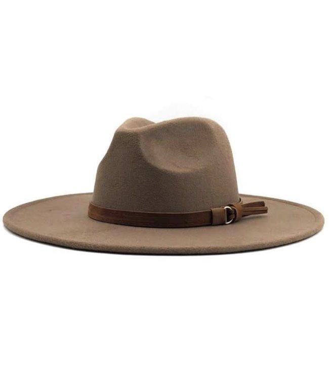 Natty Grace Young, Wild, & Free Wide Brim Hat