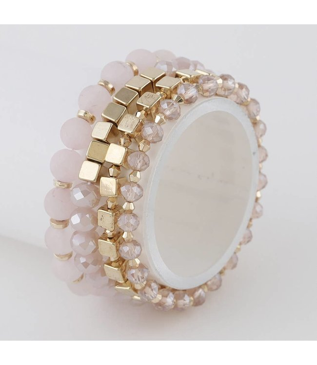 Natty Grace Pia Multi Beaded Bracelet Set