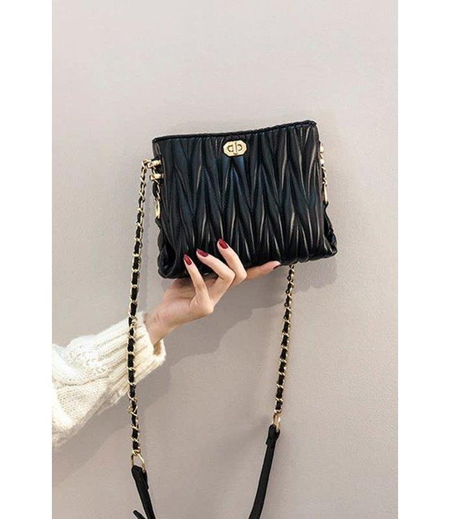 Natty Grace High Standard Chain Strap Crossbody Bag