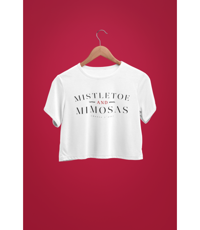 Natty Grace NG Original Mistletoe and Mimosas Tee