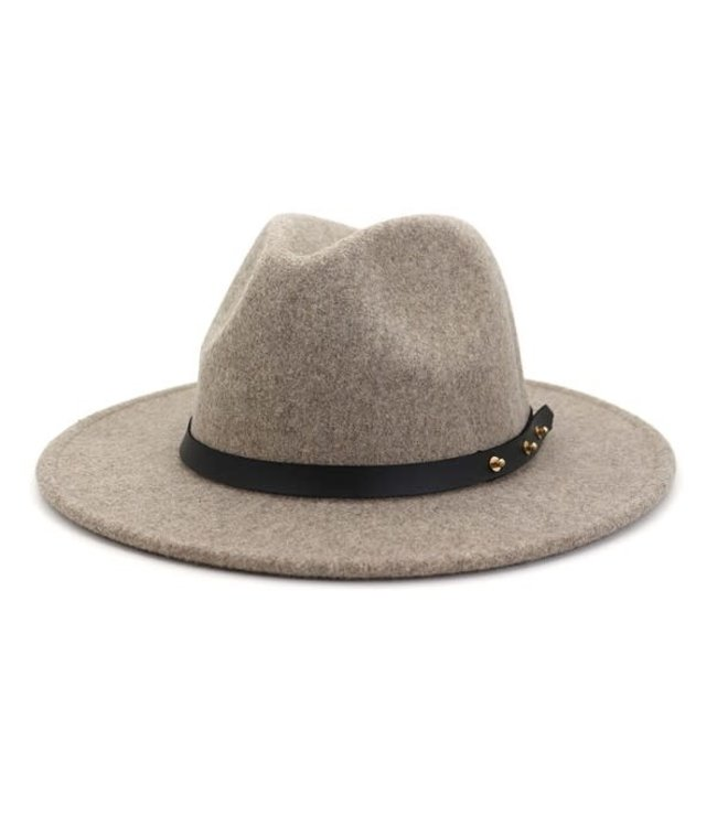 Natty Grace Keep It Trendy Basic Wide Brim Hat