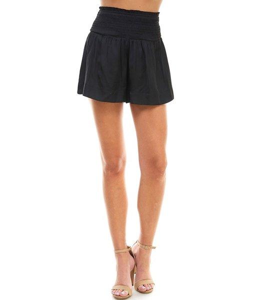 Natty Grace Jordyn Smocked Waistband Shorts