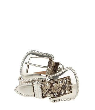 Natty Grace Old Town Road Double Buckle Belt
