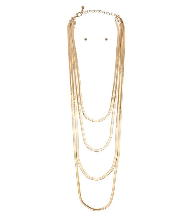 Natty Grace Best Intentions Multi Strand Necklace