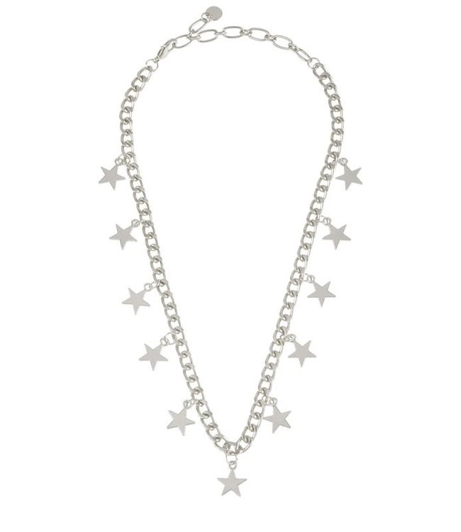 Natty Grace Shoot For The Stars Charm Necklace
