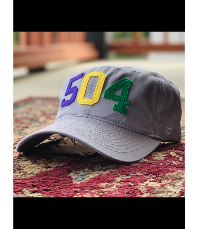 Natty Grace 504 Mardi Gras Ball Cap