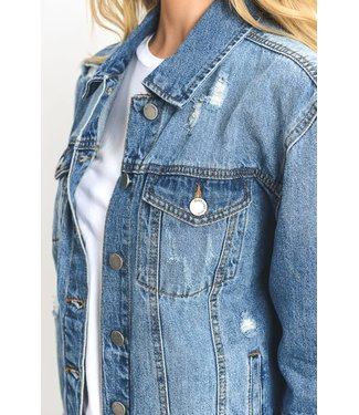 Natty Grace Life Is Better In Denim Jackets