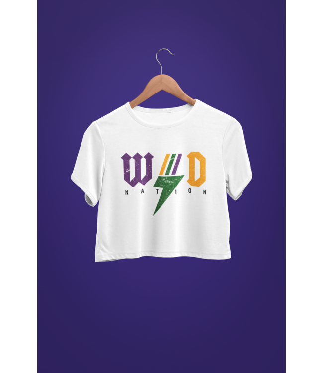 Natty Grace Original WD Nation Mardi Gras Rocker Tee