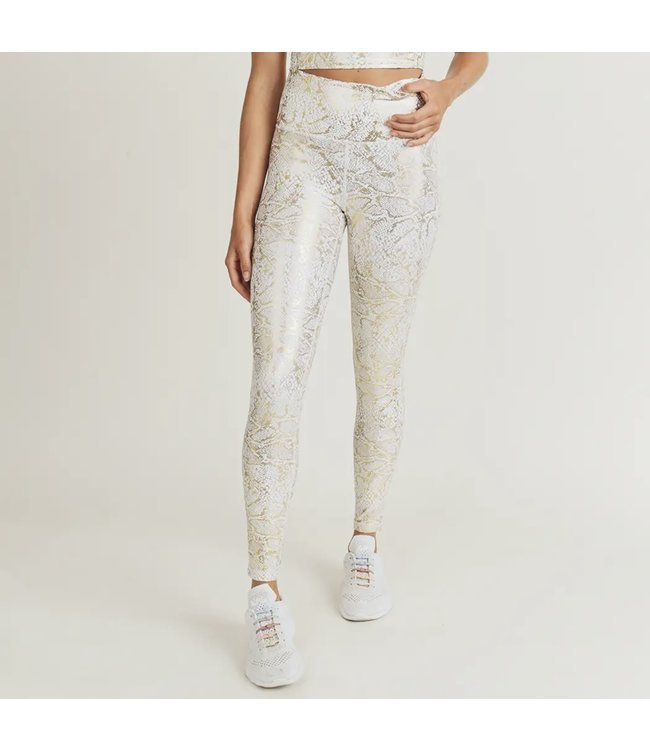 Natty Grace Golden Hour Snake Print Highwaist Leggings