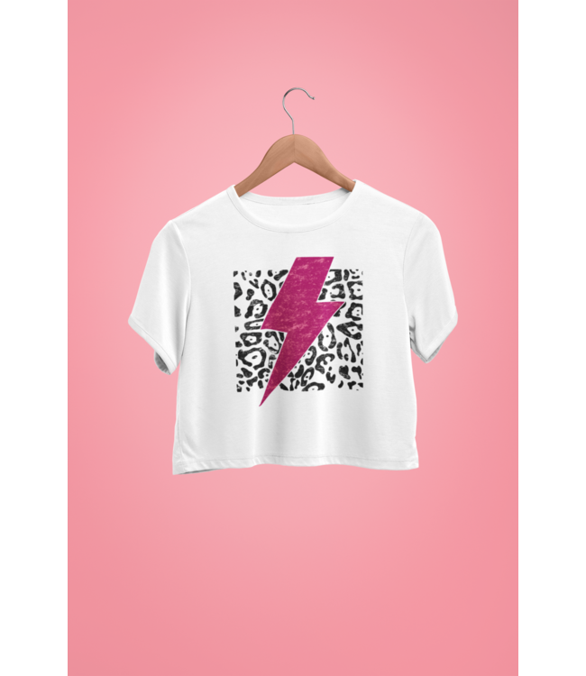 Natty Grace NG Original Leopard Lightning Bolt Tee