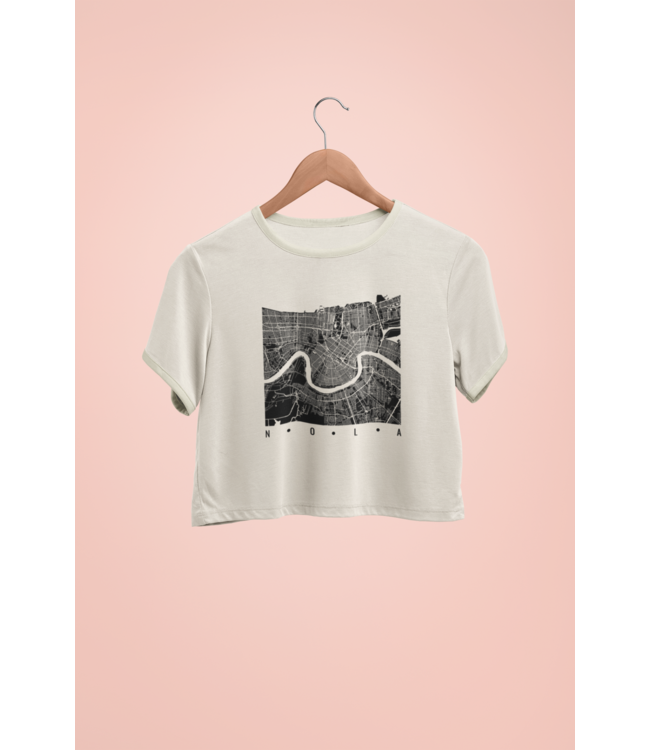 Natty Grace NG Original Nola Map Tee