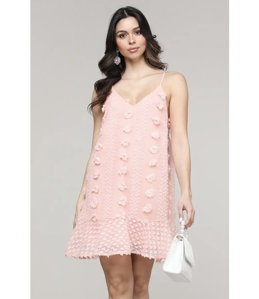 Natty Grace Pippa Polka Dot Babydoll Dress