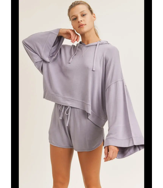 Natty Grace Time To Get Comfy Oversized Pullover