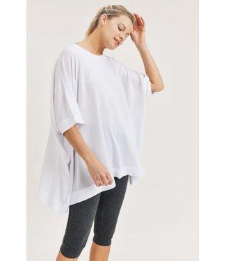 Natty Grace No Boundaries Mid Sleeve Cape Shirt