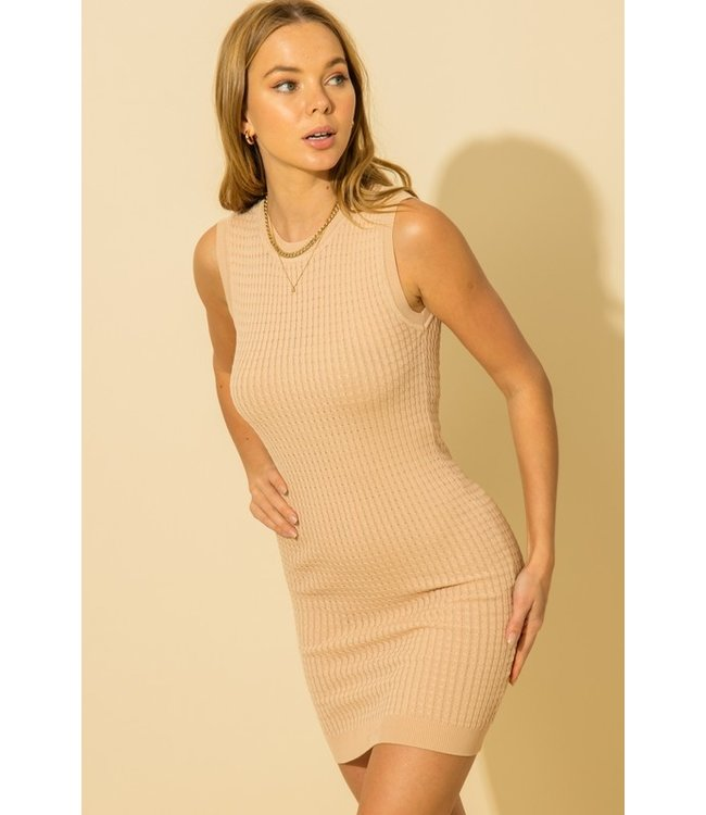 Natty Grace Pure Intentions Sleeveless Knit Dress