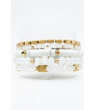 Natty Grace Spring It On Me Beaded Bracelet Set