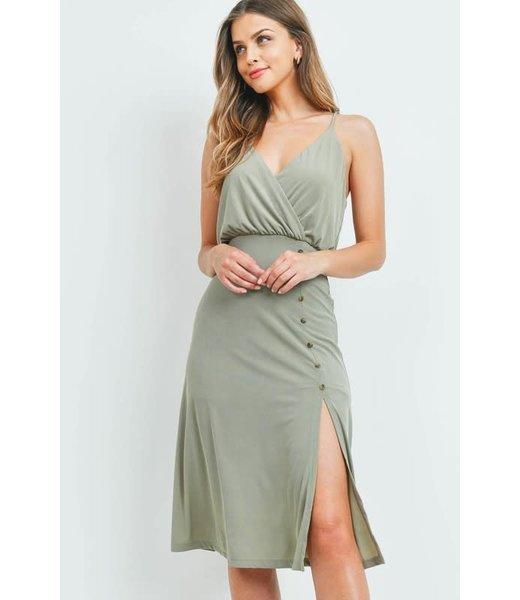 Natty Grace Liza Jane Knit Ribbed Midi Dress