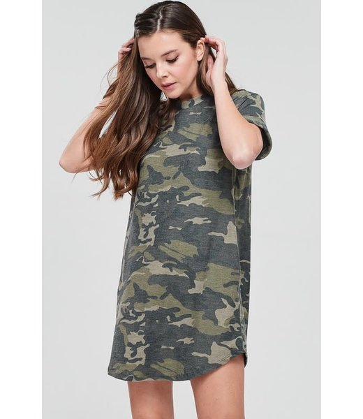 Natty Grace Armed Forces of a Woman T-shirt Dress