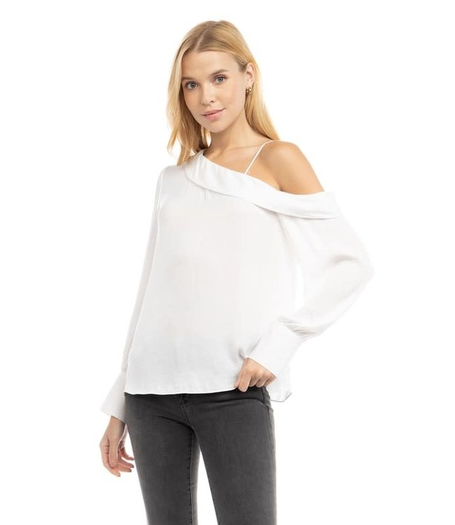 Natty Grace Living For Today Off The Shoulder Blouse