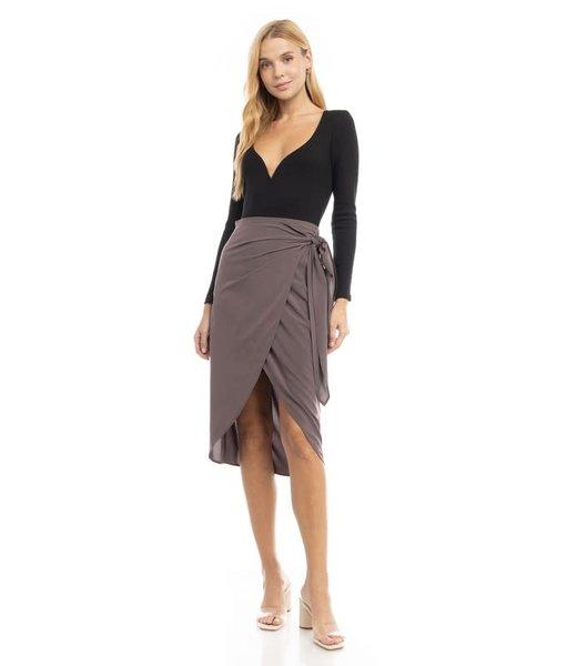 Natty Grace Influence Her Wrap Skirt