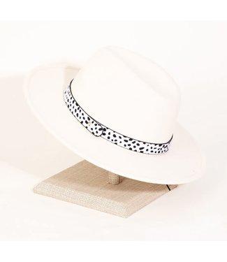Natty Grace Rare Breed Cheetah Strap Fashion Hat