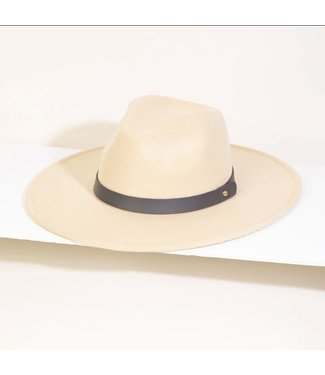 Natty Grace Feel It Coming Leather Strap Fashion Hat