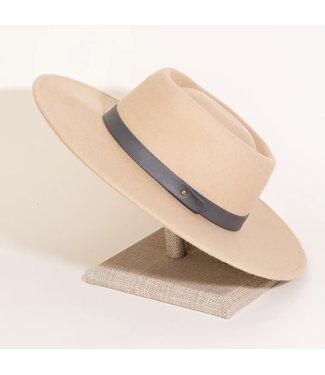 Natty Grace Trend Setter Flat Brim Fashion Hat