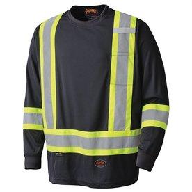 Pioneer 6997 Long Sleeve Hi-Viz Safety Shirt
