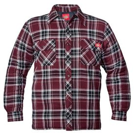 Dickie's D18005 Quilted Snap Front Plaid Shirt