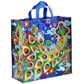 Blue Q Peacock Tote Bag