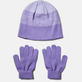 Under Armour 1345413 Girls Beanie Glove Combo