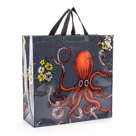 Blue Q Octopus Shopper Tote Bag