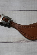 Craig Lewis Leather Spur Straps
