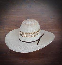 Twister Twister Bangora Straw Hat - Ivory/Tan